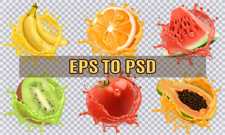 How to Convert Eps to Psd