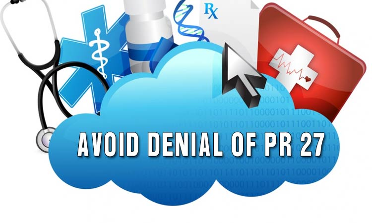 How to avoid denial of PR 27