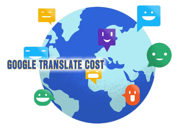 Google Translate cost