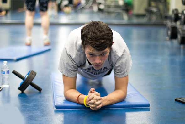 Try using bodyweight for strength