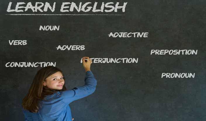 People speak in different languages