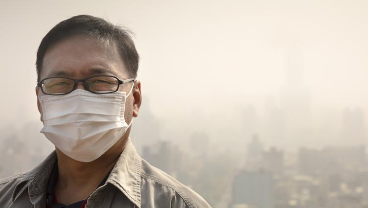 How To Wear A Pollution Mask