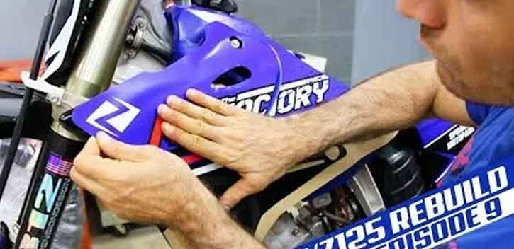 How to Remove and Replace Your Dirt Bike Graphics