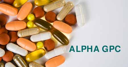 alphaGPC in weakening side effects