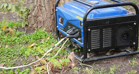 Connecting Portable Generator
