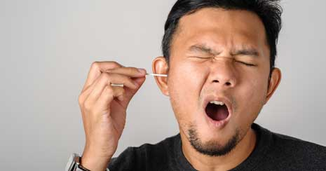 Cause of Earwax Buildup