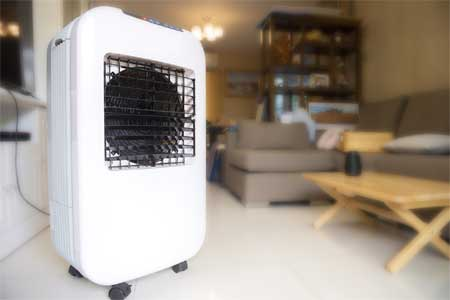 How ionizer function on air cooler